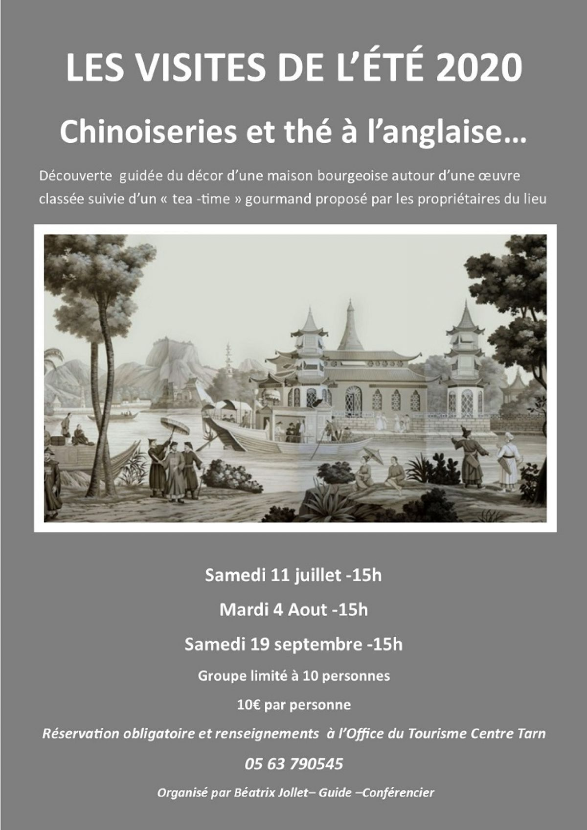 CHINOISERIE ET THE A L ANGLAISE A REALMONT