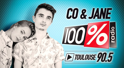 100% TOULOUSE 90.5 CO & JANE