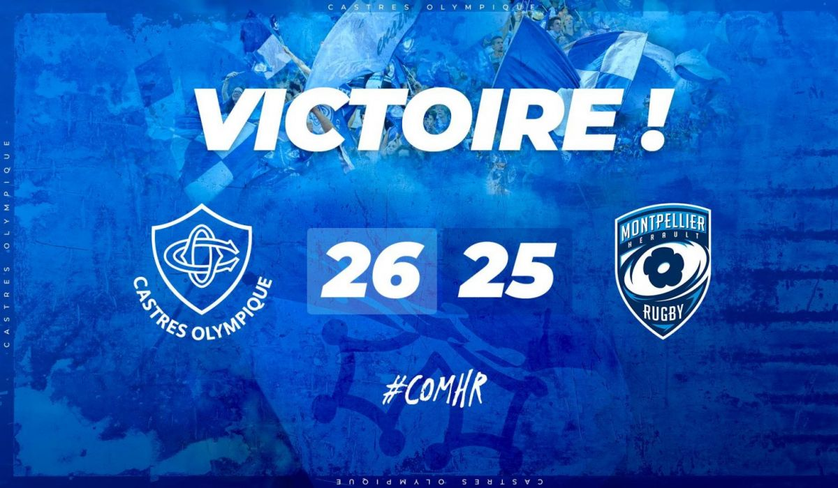 Castres de justesse, Toulouse accroche un point