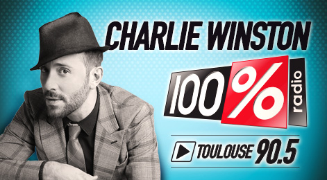 100% TOULOUSE 90.5 CHARLIE WINSTON