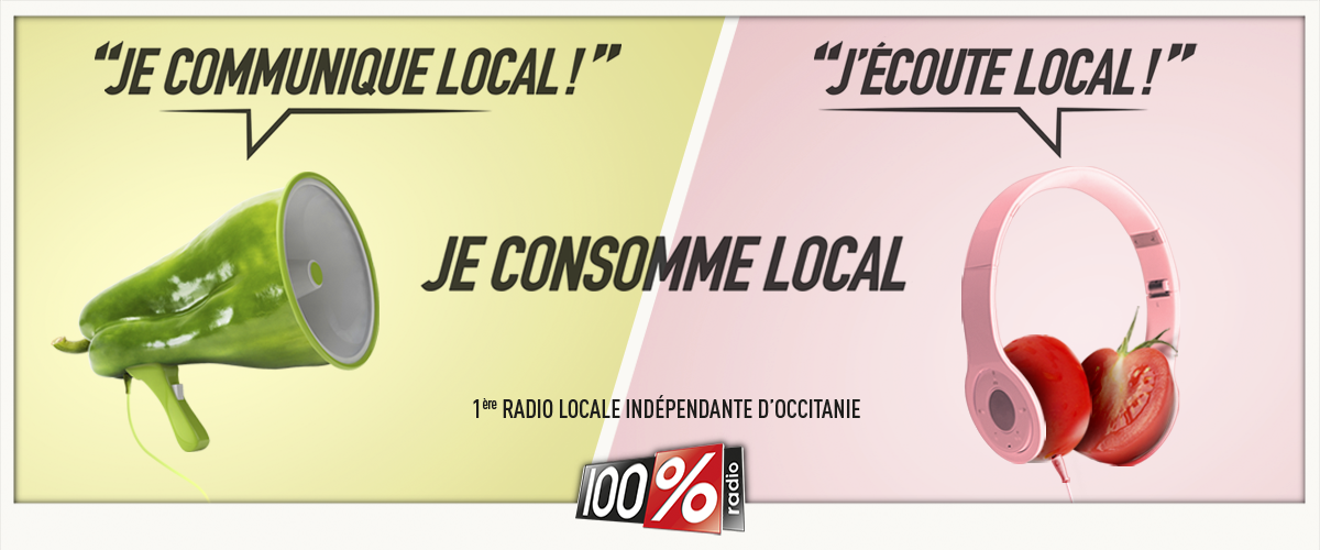 Je consomme 100% local !