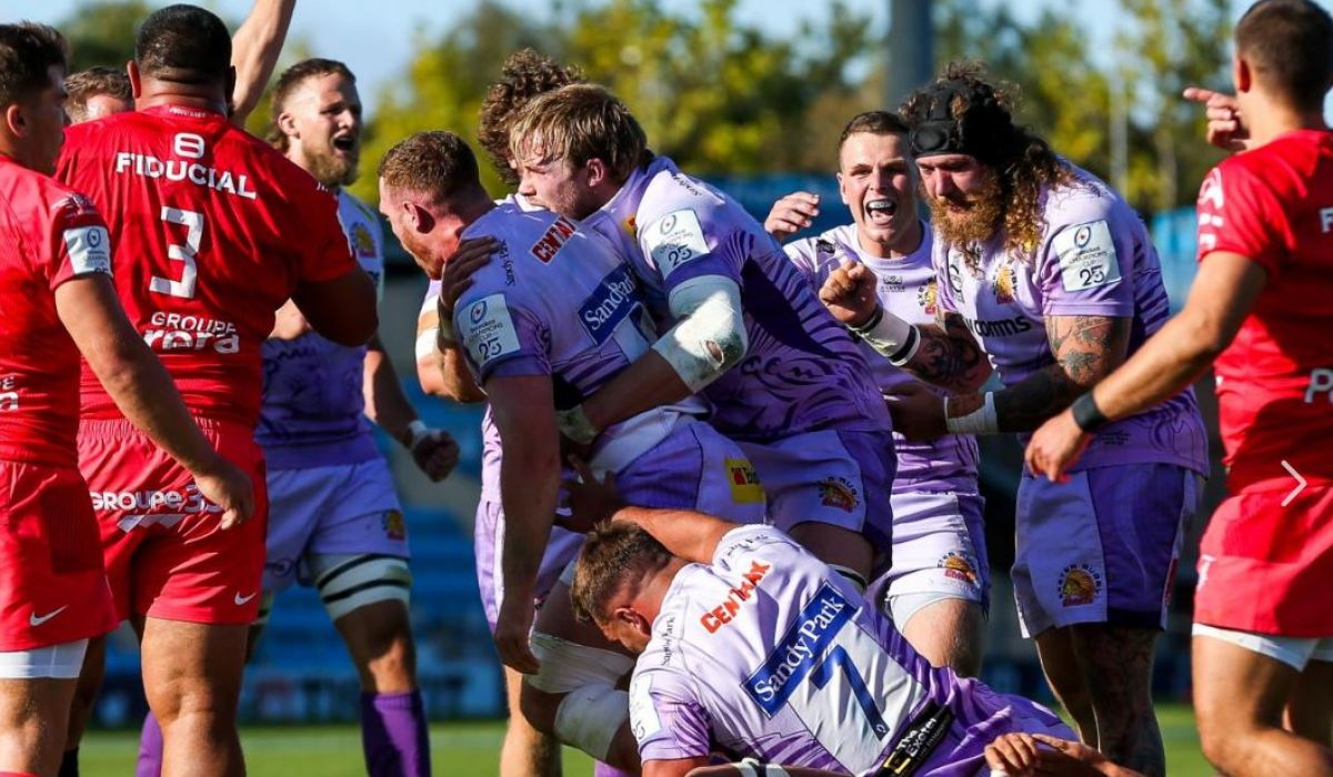 Coupe d'Europe de rugby : Exeter bat Toulouse (28-18)