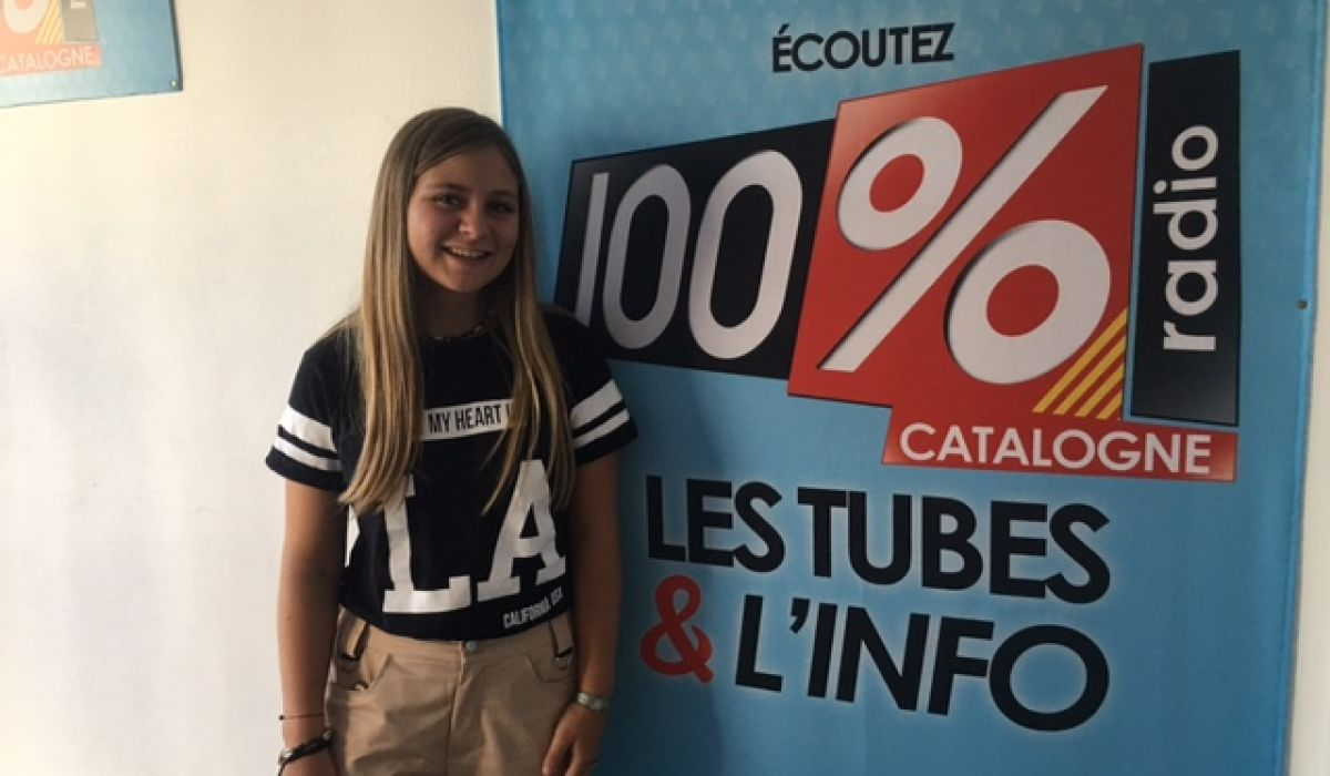 Justine, une catalane à The Voice Kids !